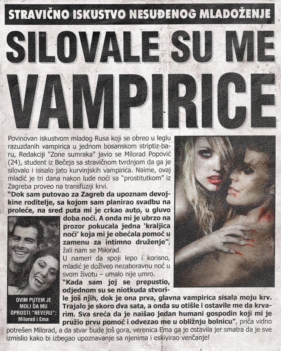 Silovale su me vampirice