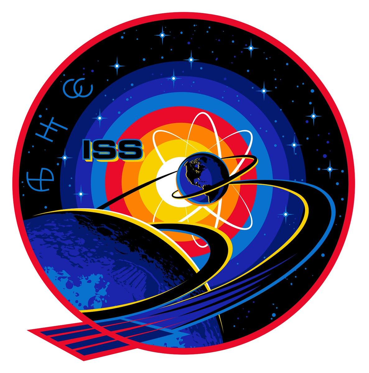 Эмблема 63 экспедиции на МКС