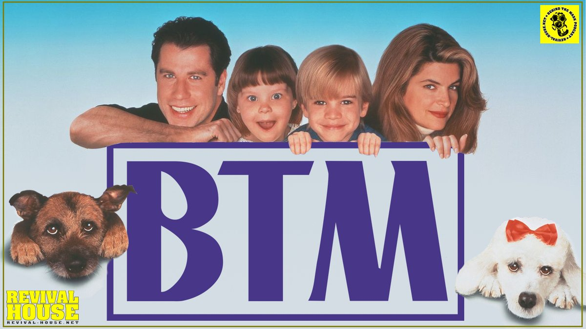 Look Who's Talking Now (1993) - BTM Commentary  Listen: https://t.co/yzquK9gGHi  Download: https://t.co/KWX72HM2Rr  #BTMPodcast #RevivalHouse #Commentary #JohnTravolta #DannyDevito #LookWhosTalkingNow #Comedy #KirstieAlley #DavidGallagher #TabithaLupien #LysetteAnthony https://t.co/e8O331tMvK