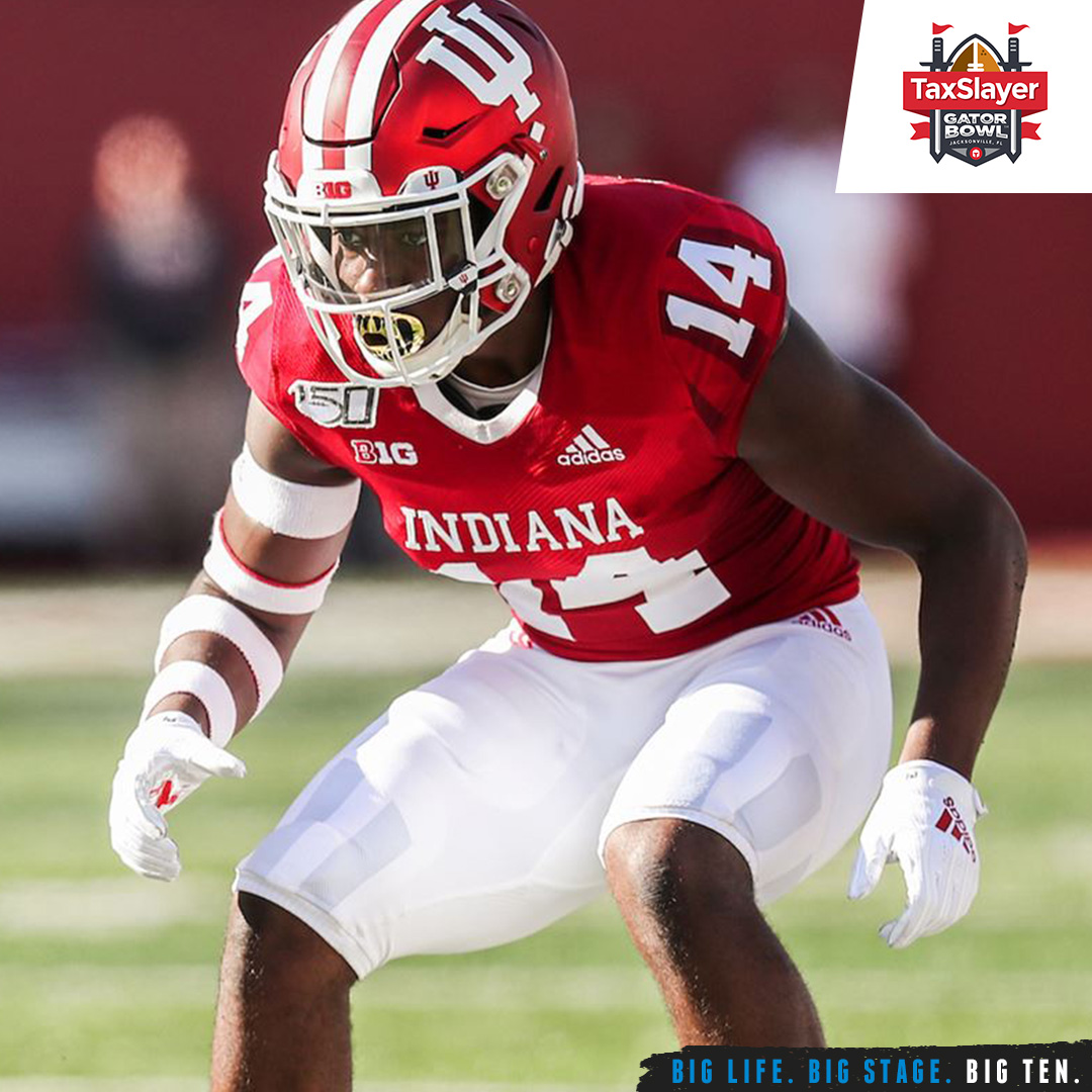 Nineteen 2019 Academic All-Big Ten selections from @IndianaFootball are on the roster playing in the @taxslayerbowl.  #B1GFootball x #TaxSlayerGatorBowl https://t.co/kbVa6Qygmu