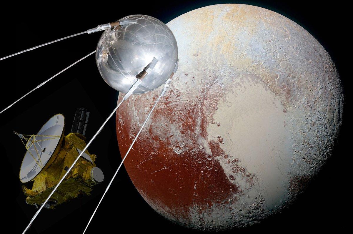 Планета со спутником картинки