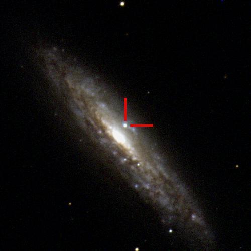 The Type Ib supernova 2019yvr in NGC 4666, 85 million light years away. #ucsctransients #swopetelescope
