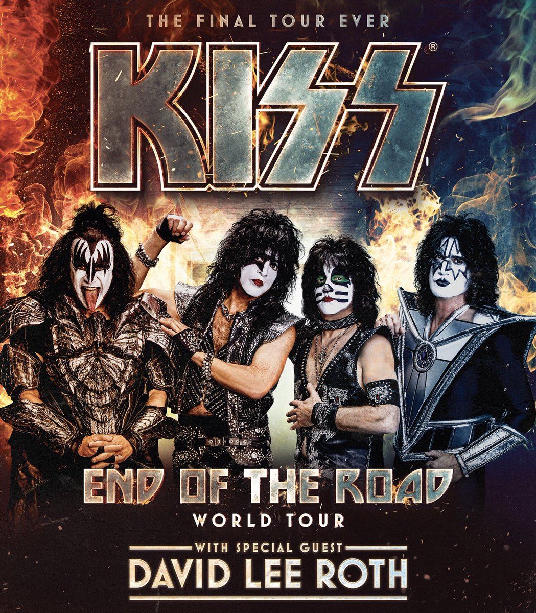 Kicking off on February 1st in Manchester, NH #kissendoftheroadtour