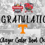 Image for the Tweet beginning: Congratulations @Vol_Football on winning the