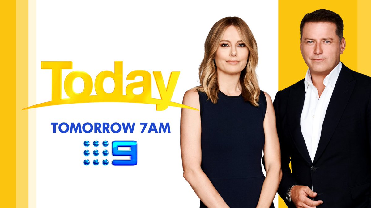 Karl and I will be live tomorrow from 7am, to share the latest news on Australia's bushfire emergency.