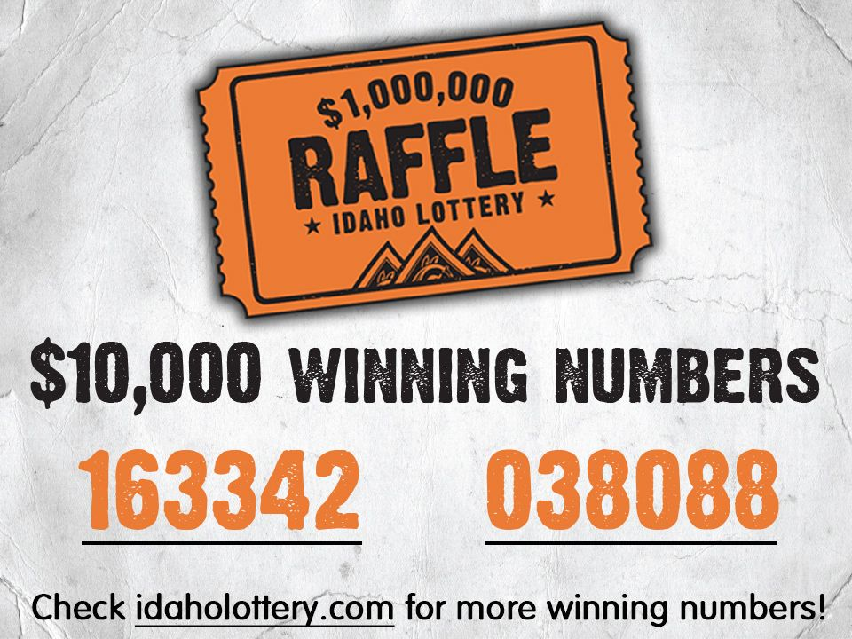idaho lottery second chance