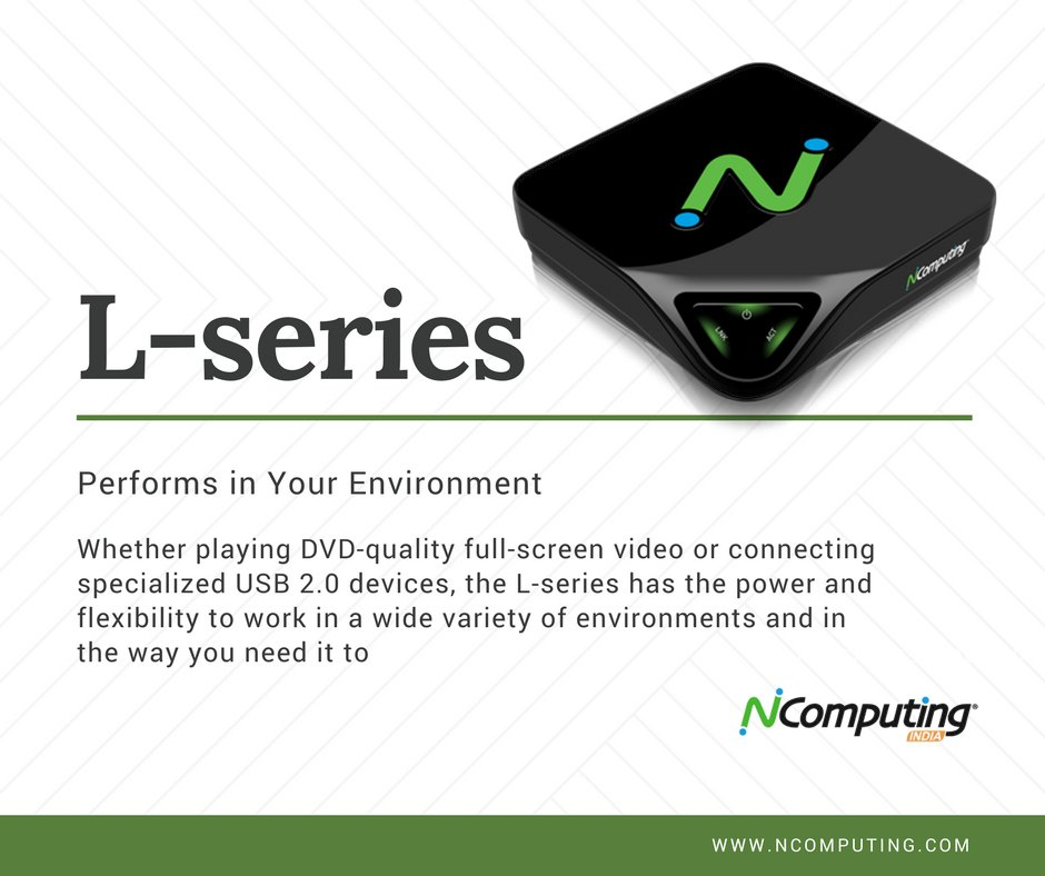 Performs in your environment .  #ncomputing #vspacepro #l300 #performance #thinclient