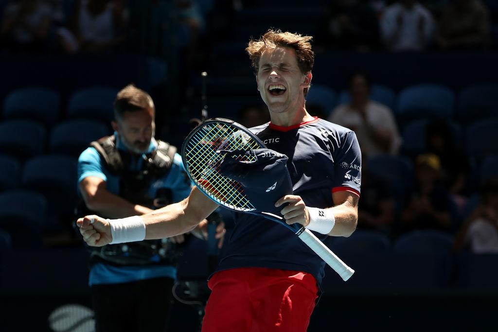 ATP Cup. Норвегия - США 2:1. Группа D. Первый раунд