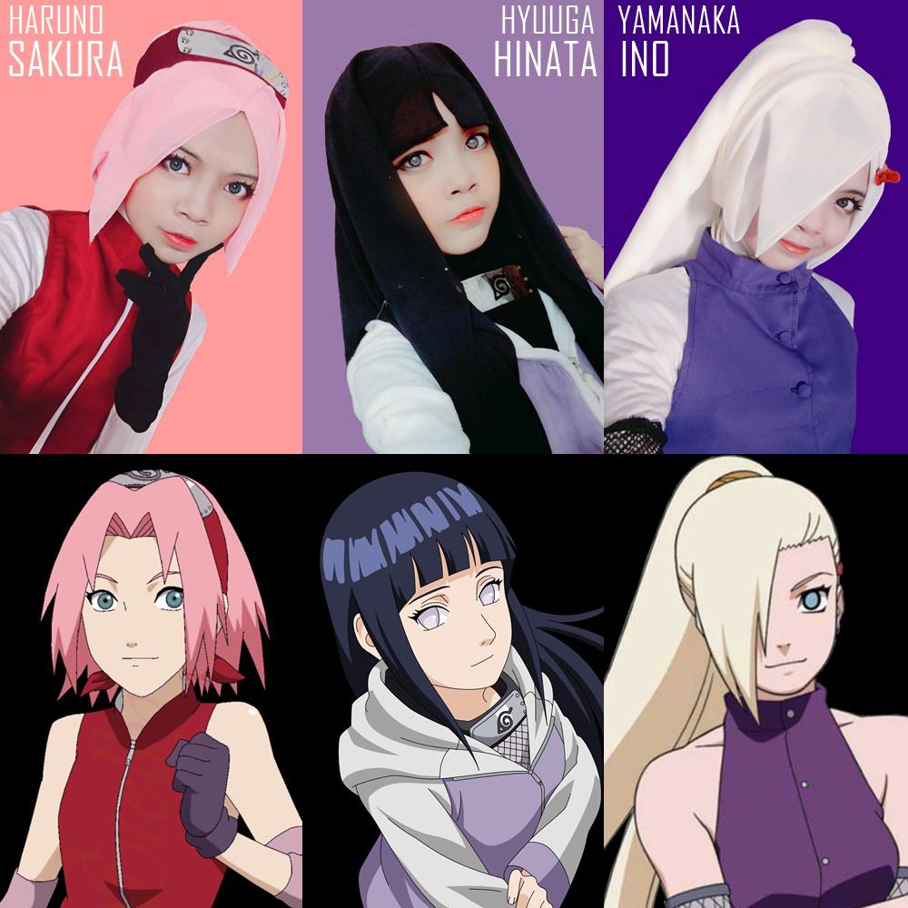 Tutorial Hijab Cosplay Anime - Voal Motif