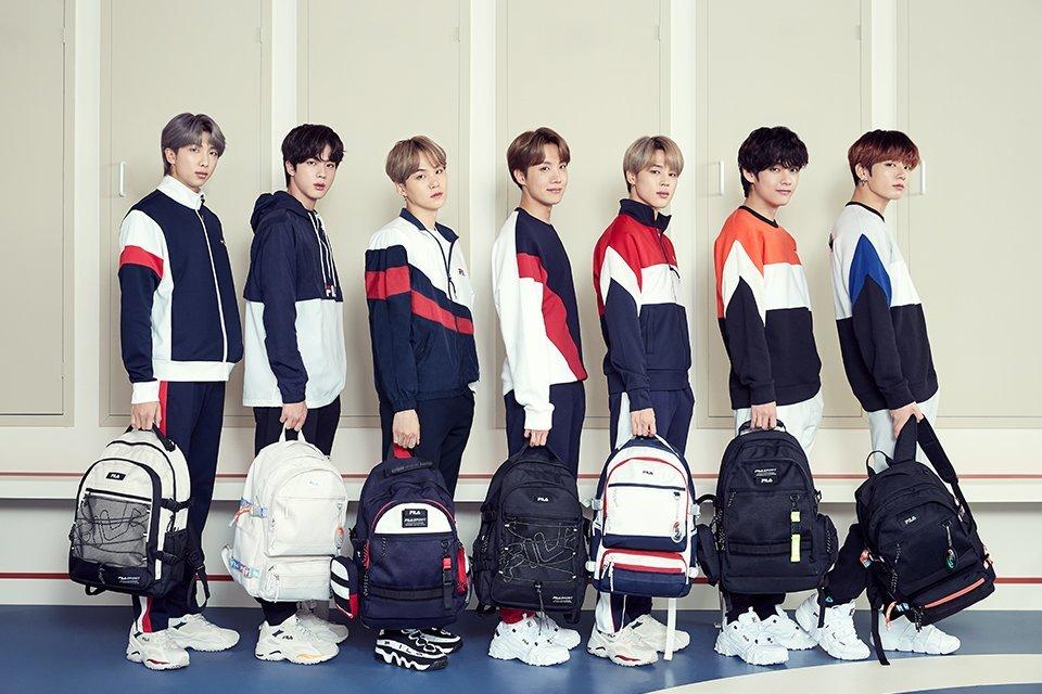 BTS Jadi Brand Ambassador FILA Global