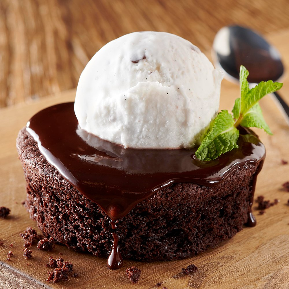 Image result for frankie and bennys vegan chocolate lava
