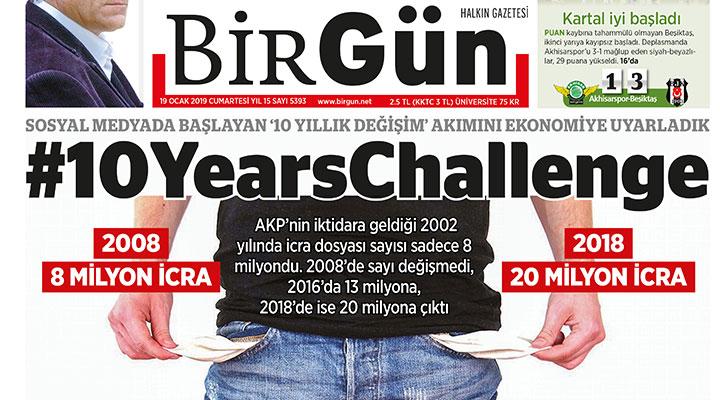 Yılın en iyi 10 manşeti seçildi: BirGün 3 manşetiyle listede bit.ly/2sIny4U