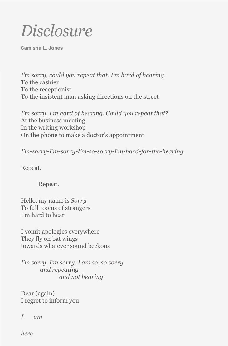And apology poems of regret 10 of