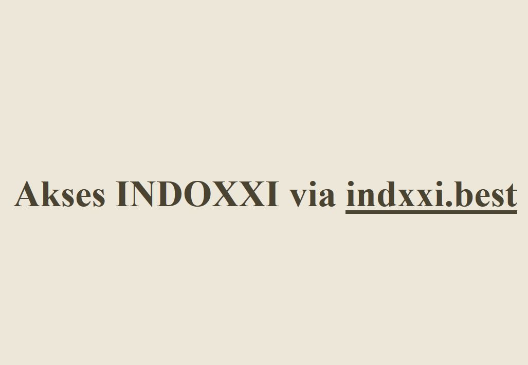 Indxxi Link Indxxi Twitter