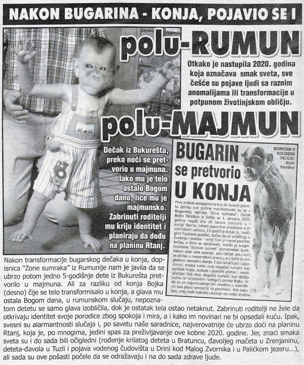 Pojavio se polu Rumun – polu majmun