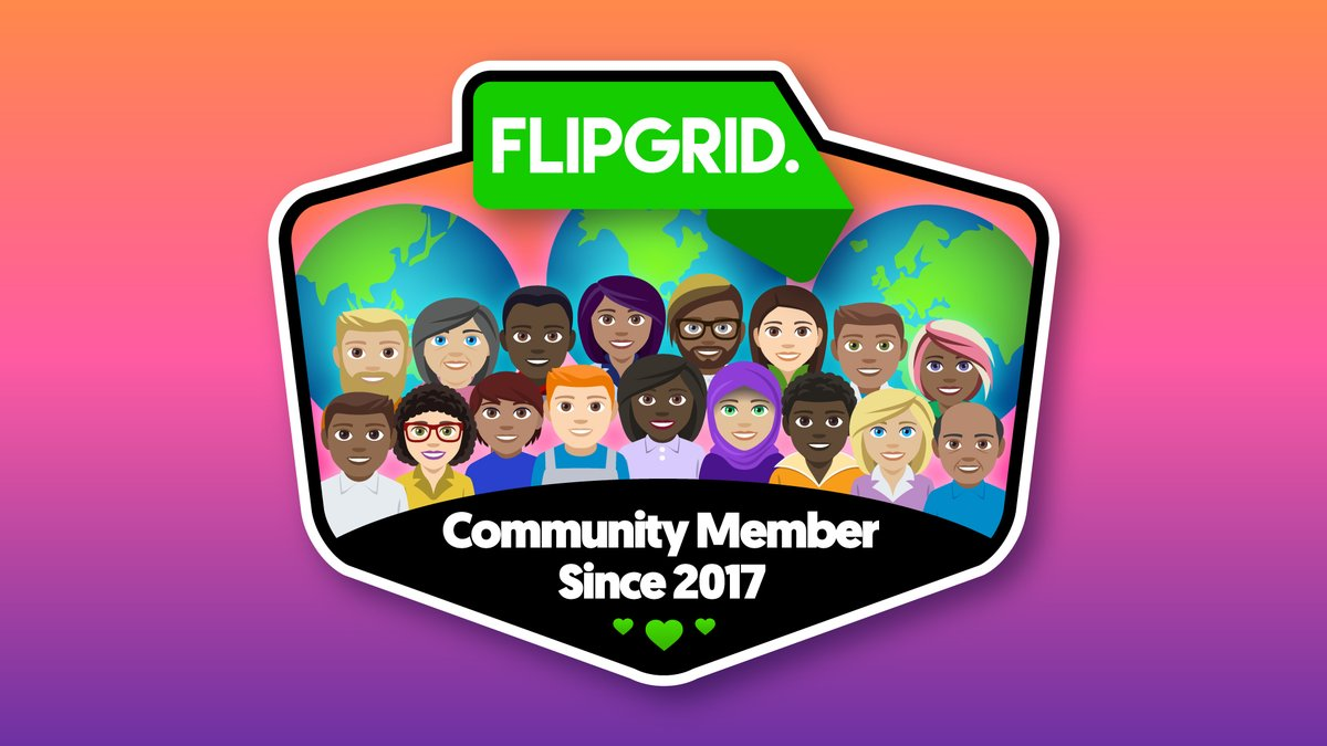 I have been amplifying and empowering my learners with @Flipgrid since 2017! #FlipgridFever