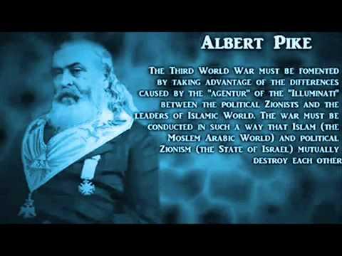 """JesusComingSoon on Twitter: """"4 Albert Pike - 3 World Wars - Satanic  Illuminati Plan… """""""