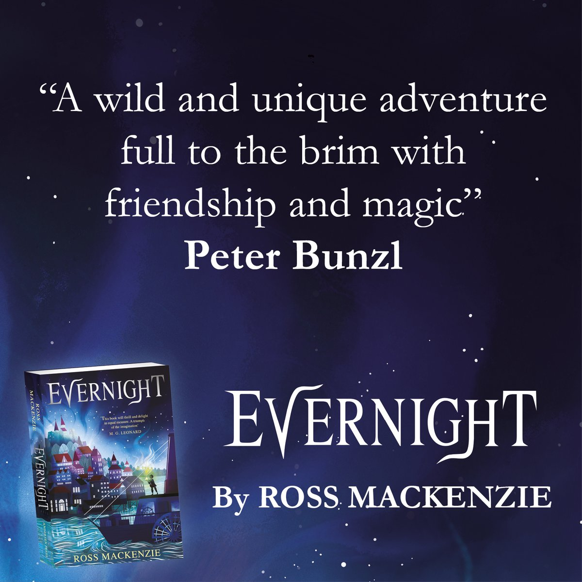 The Evernight approaches... 💫🌌💫 A wild and unique adventure full to the brim with friendship and magic @peterbunzl 💫🌌💫 #EvernightBook by Ross MacKenzie released 6th February! @RossAuthor