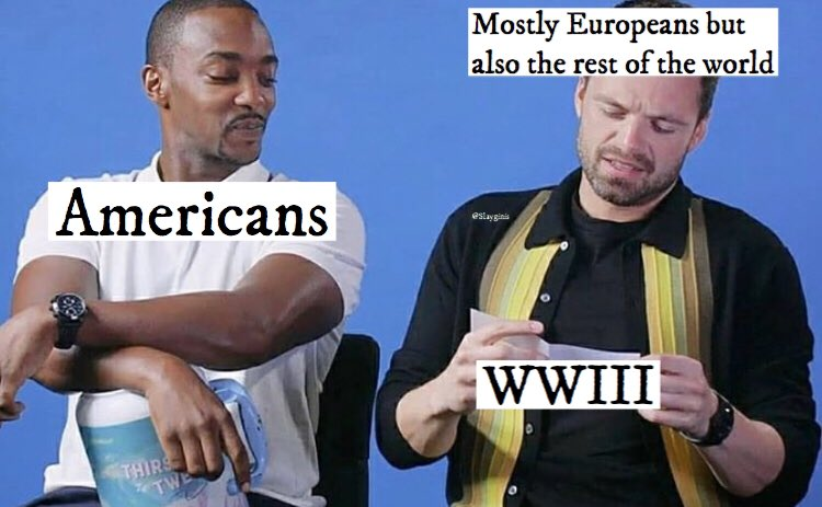I made a meme because why not #WWIII