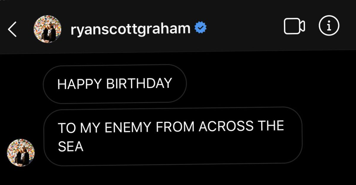 the best bday greeting that ive received goes to: