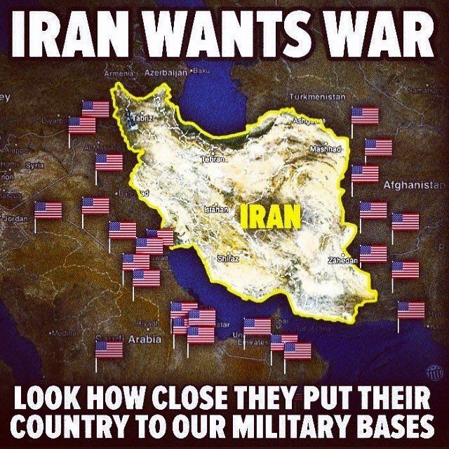 """Iran was attempting to increase it's geopolitical sphere of influence in the region.""#TrumpsWar"