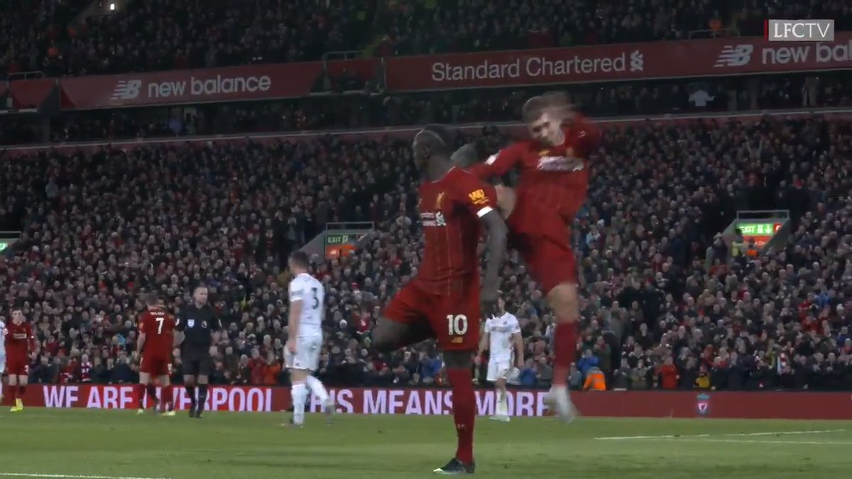 A clinical break from the Reds, finished by Sadio 👌  ⏪ Last time against @SheffieldUnited at Anfield ⏪ https://t.co/cZe1sm59il