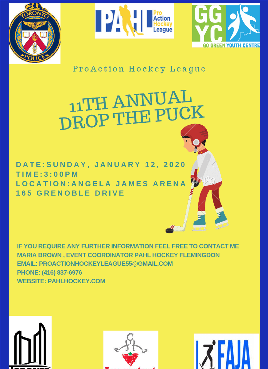 The 11th Puck DropEvent! http://pahlhockey.com/the-11th-puck-drop-event/…