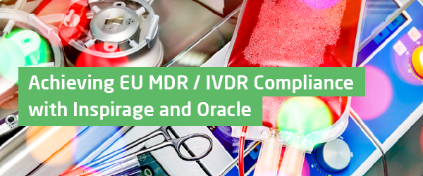Is your organization on track to comply with the EU MDR / IVDR regulations? Still time to register and join Mike Lieberman, Inspirage, and Gary Goldhawk, Oracle, for a lively presentation designed to help you meet the deadline! https://t.co/QrQYQIyTeY https://t.co/gzFlcUxhzy