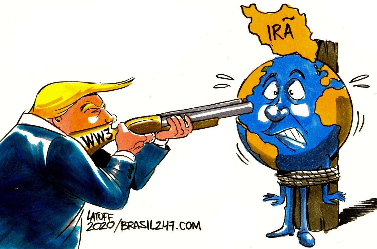 Carlos Latuff On Twitter A Terceiraguerramundial De Donald