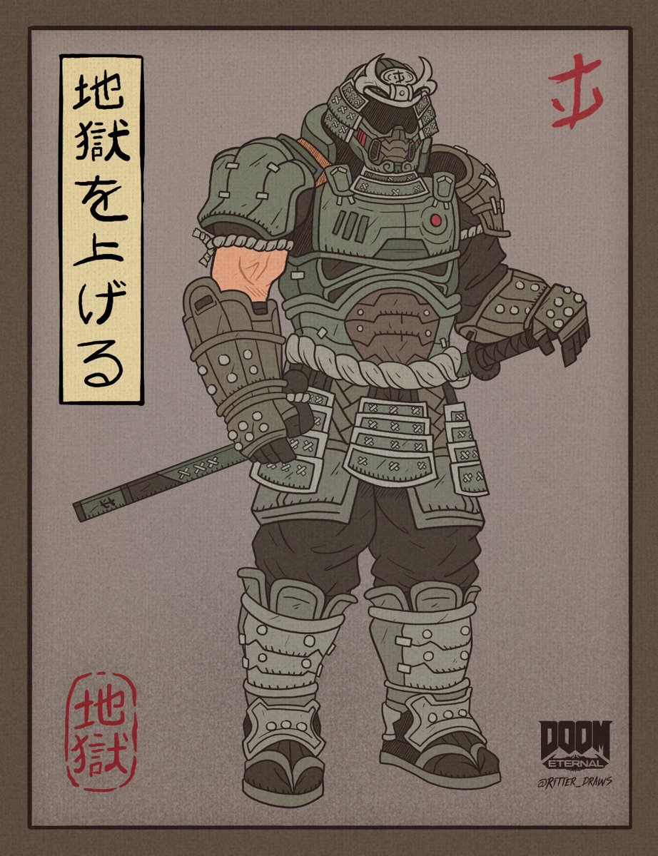 Doom On Twitter Rōnin Slayer Fan Art By Ritter Draws