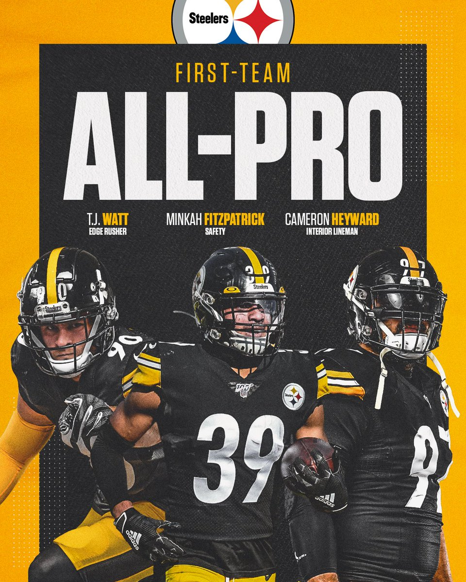 Steelers S Minkah Fitzpatrick named an All-Pro