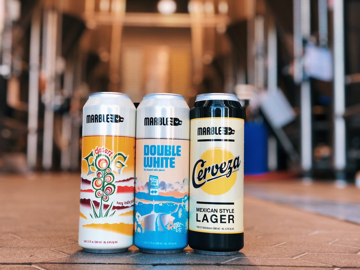 Think BIG in 2020! Be on the lookout 👀 for the 19.2oz cans of #DesertFog, #DoubleWhite & #Cerveza at your favorite liquor retailer!  #ComingSoon https://t.co/qOYlr7fQzt
