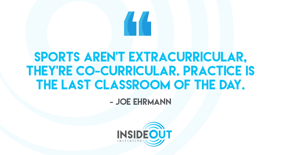 The opportunity for learning doesn't stop after the last bell rings. It continues on the field.