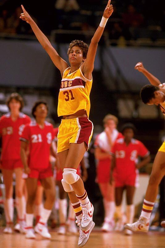 Happy birthday to the great Cheryl Miller.   In high school, she once scored 105 PTS (46-50 FG) in a 179-15 win!   She also has 2 NCAA Championships and 5 gold medals!