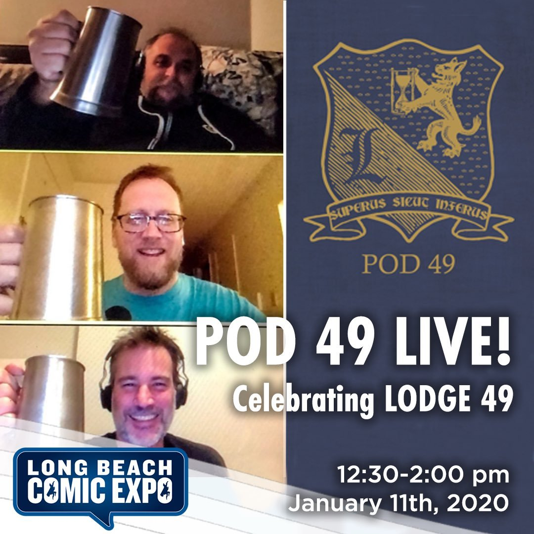 Want to hear us chat live with #Lodge49 Luminus Knights like @Vik__Sahay @sampuefua @AletheaJones @BrittRentschler and more to come! We have special Lynx discounts! DM us for a $10 discount code!!  #CelebrateLodge49
