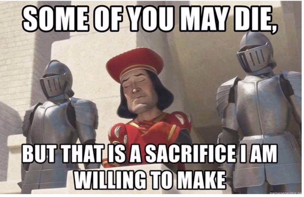 Trump when he's announcing #WorldWarIII https://t.co/MA1Ewb0Ufc