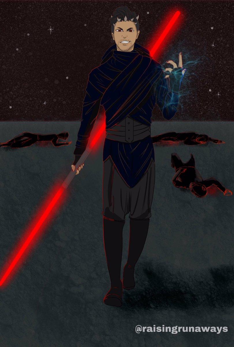 Darth Bane  #MagnusBane #Shadowhunters #SaveShadowhunters #Malec #StarWars #MalecAU pic.twitter.com/G4dxyWLeyH