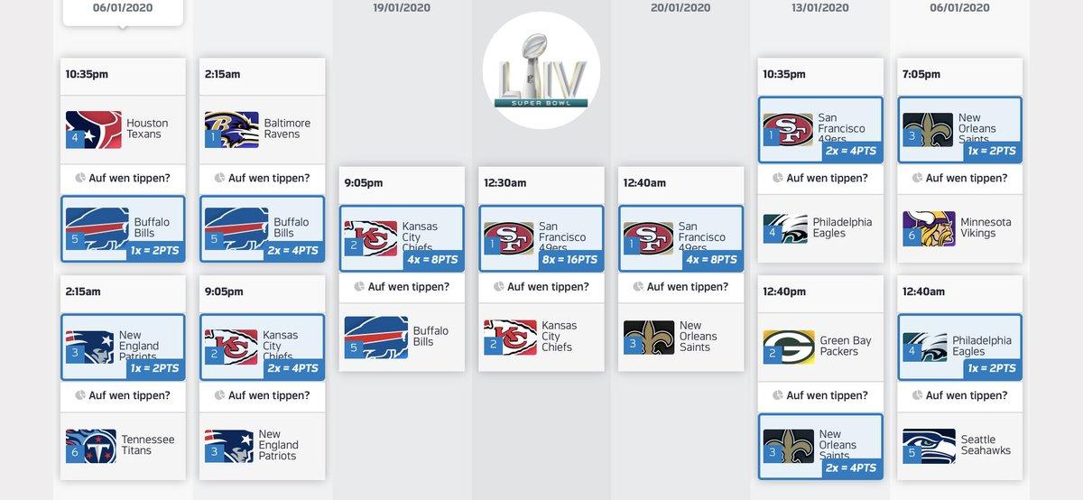 #NFLPlayoffs