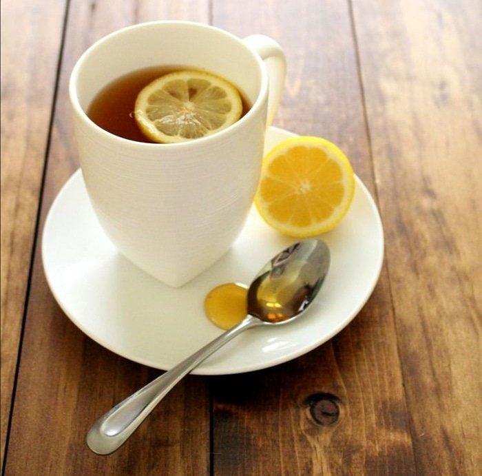 картинка чай с лимоном и медом и улыбка выбор
