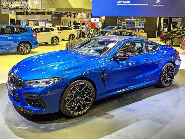 #sgMotorShow2020: First -ever #BMW M8 Competition Coupe with 4.4-litre V8. The 2+2 seater features BMW TwinPower Turbo technology & peak output of 625hp - at the #SingaporeMotorshow, until tomorrow at Suntec Level 4 & 6.  #tech4tea #ttm #sgMotorShow @sgMotorShow #t4tSGmotorS…pic.twitter.com/MaXa7WQMV0