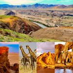 Image for the Tweet beginning: Endless Namibia diversity in #landscapes
