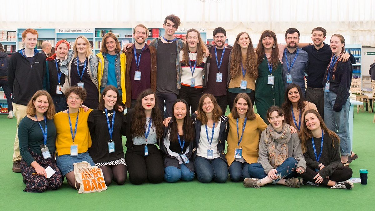 18-25? Apply to our Hay Academy programme for a chance to join the #HayFestival2020 team bit.ly/2XlqWNq