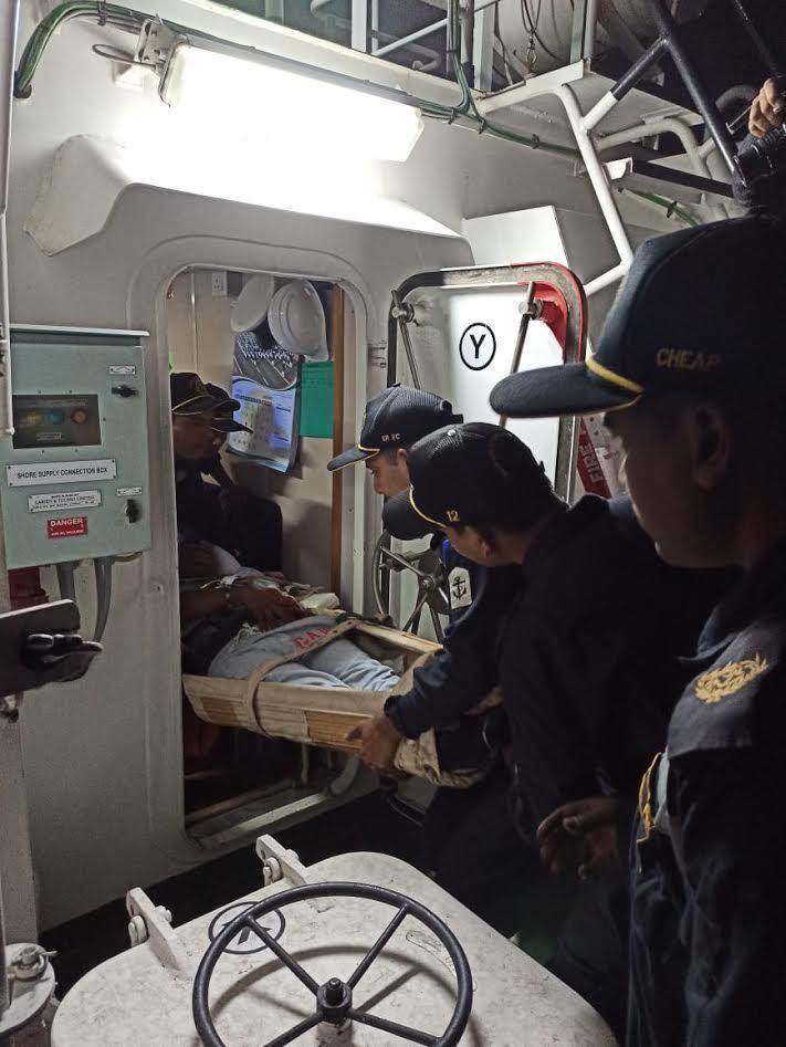 Indian Coast Guard saves Myanmar national at high seas off Porbandar coast