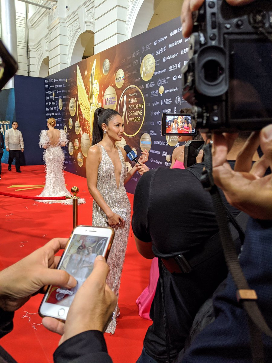 This was the moment the fans went crazy! Philippines Regional Winner, Actress Nadine Lustre speaks with AAAtv host Munah about what being nominated for the AAAs meant to her. . #nadinelustre #philippines #filipinoactress  #aaca19 #AAAtv #asianacademycreativeawards <br>http://pic.twitter.com/p9im5GiqlP
