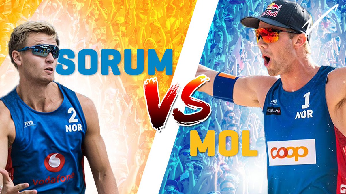 🇳🇴Mol v Sorum | 🏐 Beach Volleyball World Champions go head 2 head! Who wins? #volleybattle #beachvolleyball  EXCLUSIVE - https://t.co/MKy3zKApHA https://t.co/gIIV3Fe9Ii