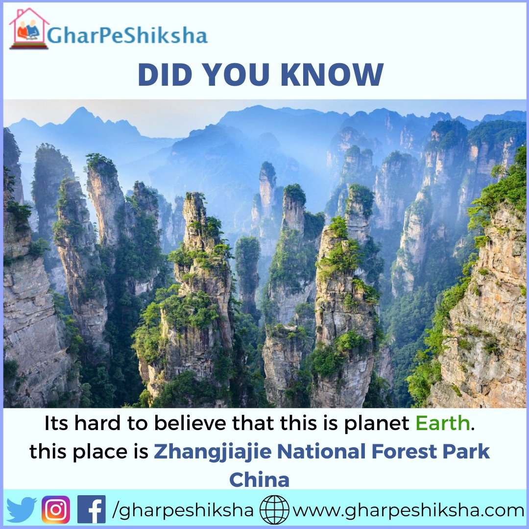 Beautiful Place . . .Want to teach? Create free tutor profile and teach students nearby , https://www.gharpeshiksha.com/tutor-section.jsp … Contact no - (+91)7065-8065-65. . #gharpeshiksha #instafact #factz#factz #generalknowledge #fact #realfacts #factsdaily #didyouknow #truefacts #knowledge #amazingpic.twitter.com/2TPXwJU4Dr