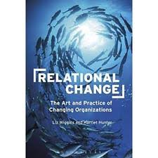 """""""Working with others, listening to their perspectives, noticing what is going on, asking people questions & #reflecting on what they say means taking a more #facilitative approach to change."""" (@LizWigginsBM  & Harriet Hunter) #RelationalChange    This is the sort of change I love https://t.co/uiQLiYsNQj"""