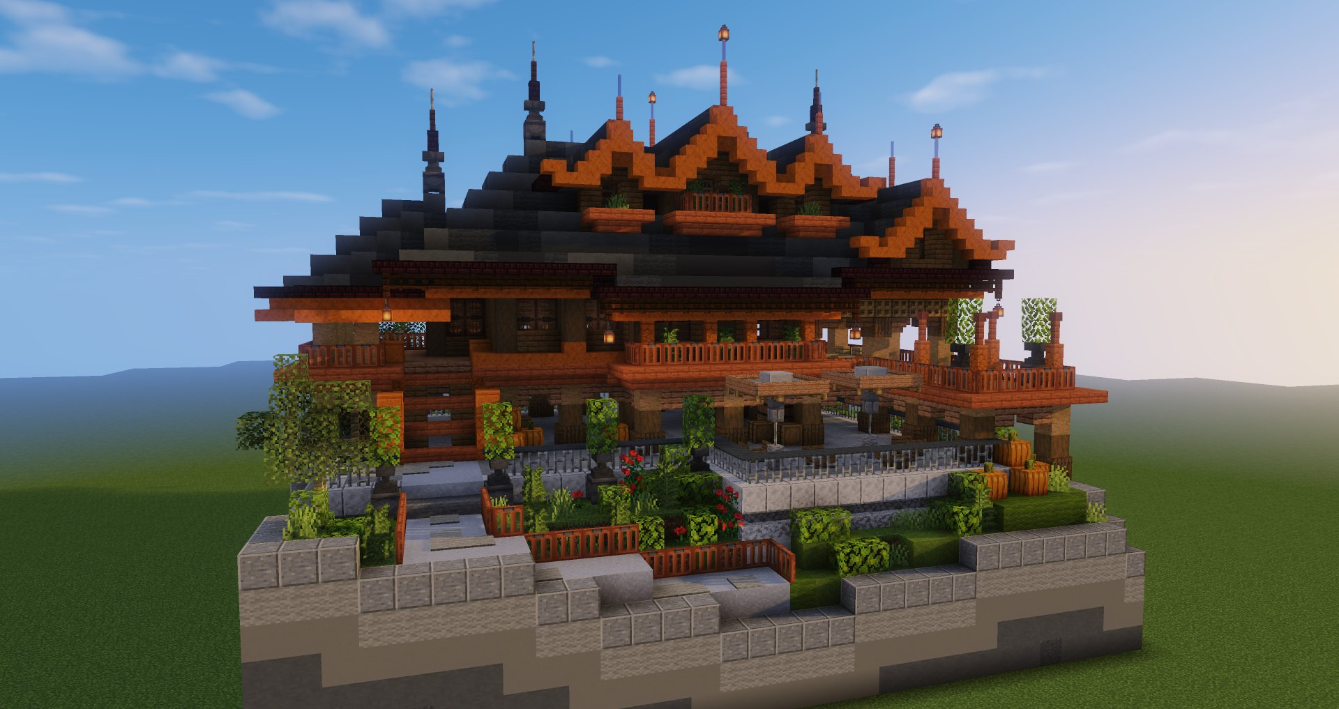 Pearlescentmoon Sur Twitter Fixed Up The Minecraft Build I Made For Day 1 7 In Abuildaday Just Needed To Sit Down And Give It More Time For Detailing What Do