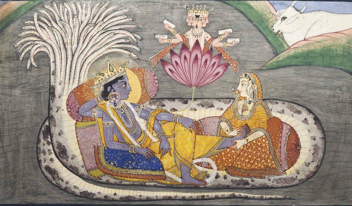 सर्ववेदेषु यत्पुण्यं सर्वतीर्थेषु यत्फलम्। तत्फलं समवाप्नोति स्तुत्वा देवं जनार्दनम्।। The punya contained in all the Vedas, the benefits of visiting pilgrim places: these are all obtained by singing the praise of Janardana (Lord Vishnu).