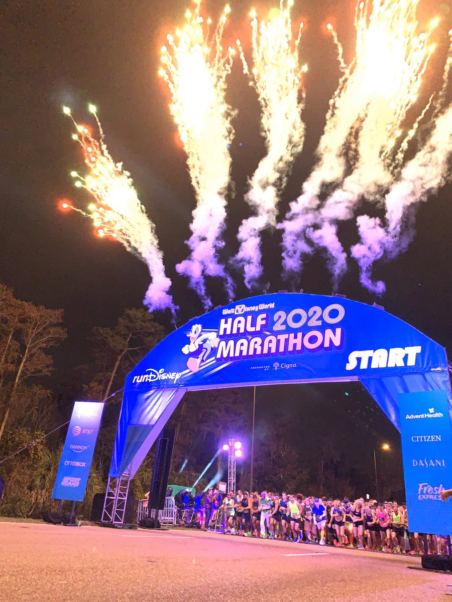 Why you oughtta... make your way to the Finish Line! Good luck runners during the #runDisney 2020 @WaltDisneyWorld Half Marathon presented by @Cigna!